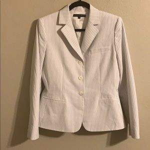 Antonio Melani striped blazer size 8